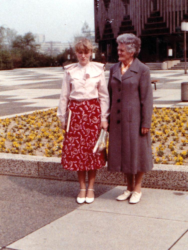 Jugendweihe Mutter Grit 1983, Foto: privat