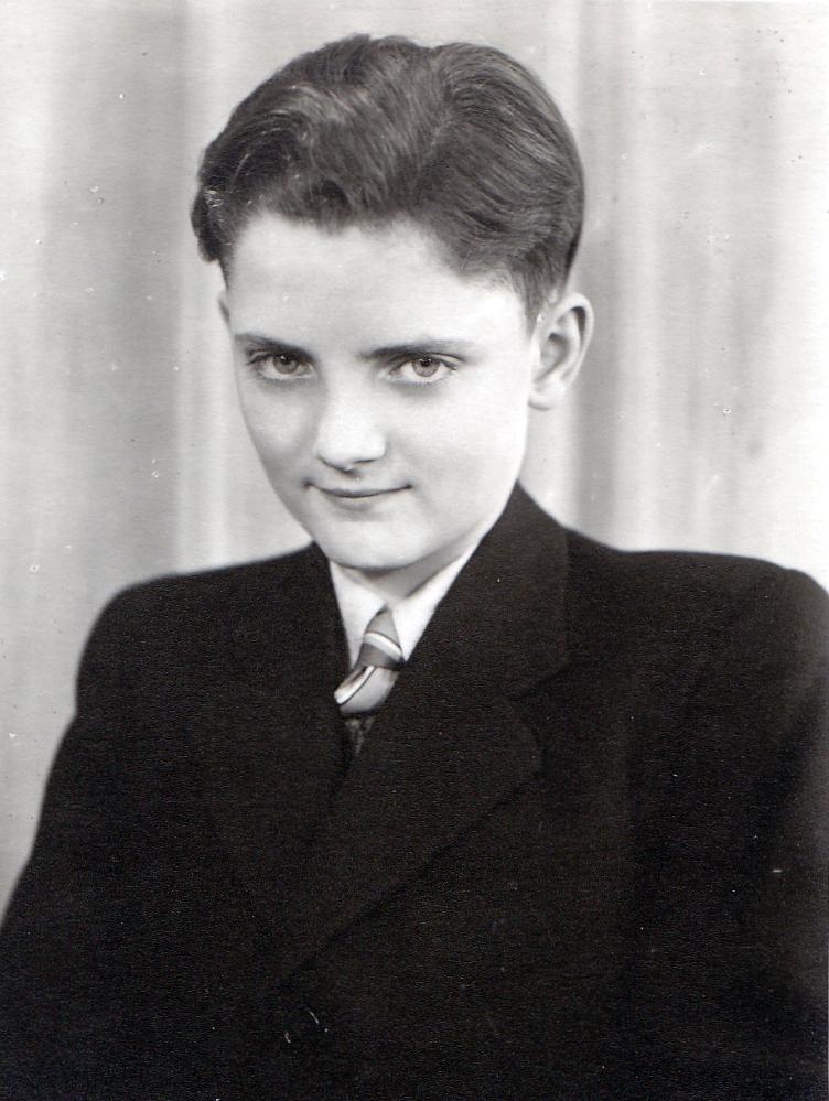 Jugendweihe Großonkel Manfred 1948, Foto: privat
